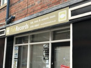 Fish Records shop, Stone, Staffordshire